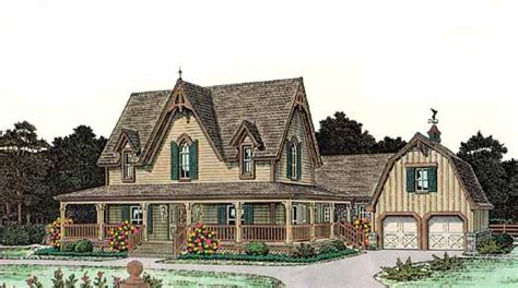6 Bedroom Country House Plans by Country Style House Plans 2772 Square Foot Home 2