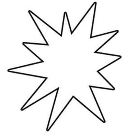 starburst coloring page starburst clip art outline clipart panda free clipart