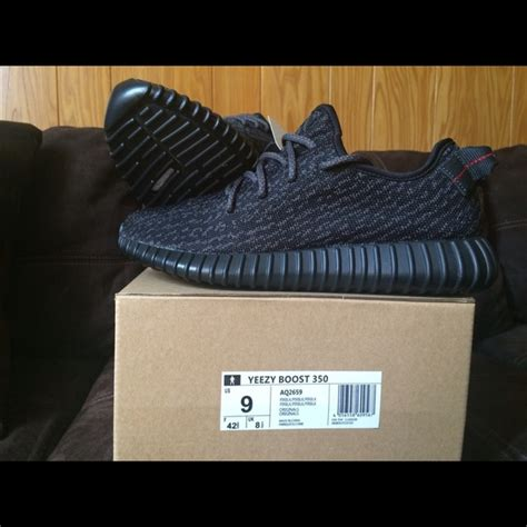 Adidas Yeezy Boost Size 9 by Adidas Shoes Yeezy 350 Boost Pirate Black Size 9 Poshmark