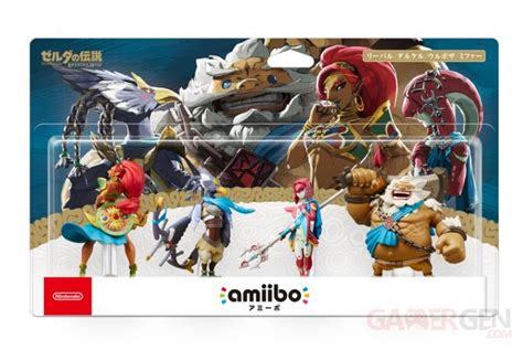 Promo Amiibo Daruk The Legend Of Breath Of The amiibo un gros pack the legend of breath of the annonc 233 gamergen