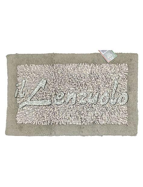 tappeto bagno antiscivolo tappeto bagno antiscivolo in ciniglia number one il lenzuolo