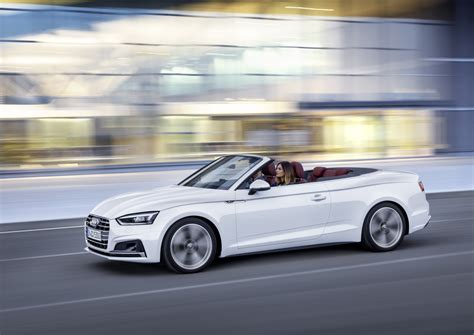 convertible audi 2017 audi a5 and s5 cabriolet unveiled forcegt com
