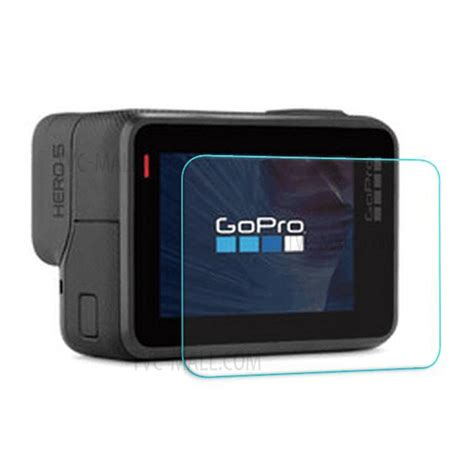 Tempered Glass Screen Protection For Gopro 5 Diskon lingle tempered glass screen protector for gopro 5 black screen and lens