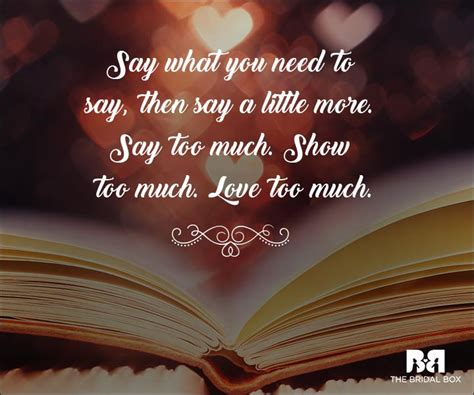 emotional love quotes   handle  truth