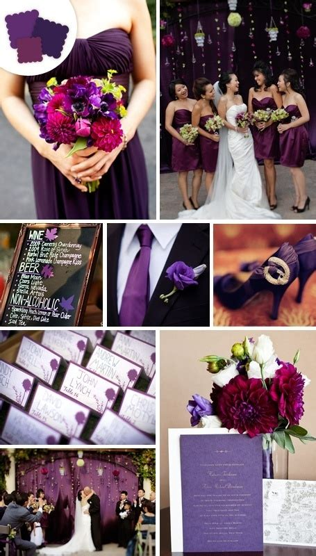 classic wedding colors eggplant wedding ideas pinterest