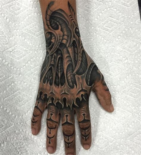 tattoo vorlage hand 75 best biomechanical tattoo designs meanings top of