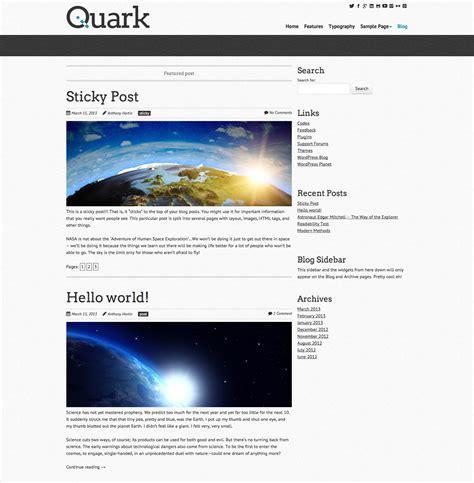 theme wordpress quark quark wordpress starter theme maddison designs