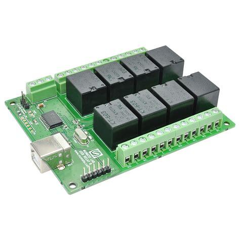 Modul Relay 8 Ch 8 channel usb relay module external power supply