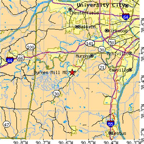 house springs mo zip code byrnes mill missouri mo population data races housing economy