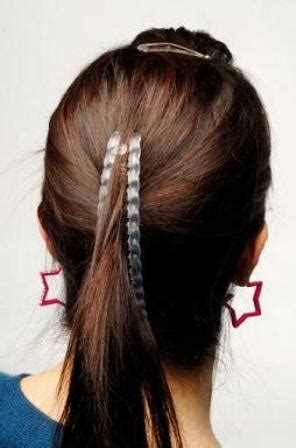 hair style wirh banana clip 11 different ways to accessorize your hair makeup and