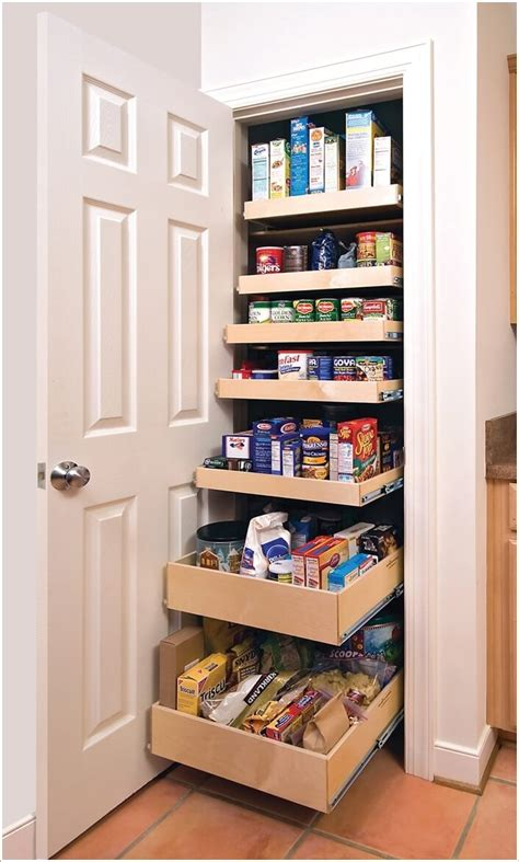 Organizing Kitchen Pantry Ideas by 10 Clever Ideas To Store More In A Small Space Pantry