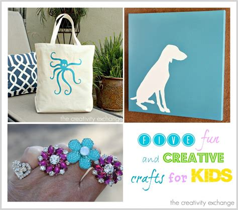 creative craft for 5 and creative craft projects for