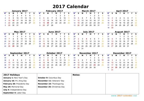 printable calendar 2017 no download printable 2017 calendar