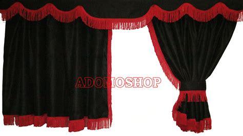 gardinenhaken new scania adomo lkw shop scania gardinen schwarz rot lkw zubeh 246 r