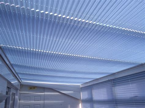 Roof L Shades by Roof Blind Wood Weave Conservatory Roof Blinds From