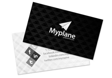 4 Side Free Psd Business Card Templates Actions by Modern Black Grey Business Card Template Psd Welovesolo