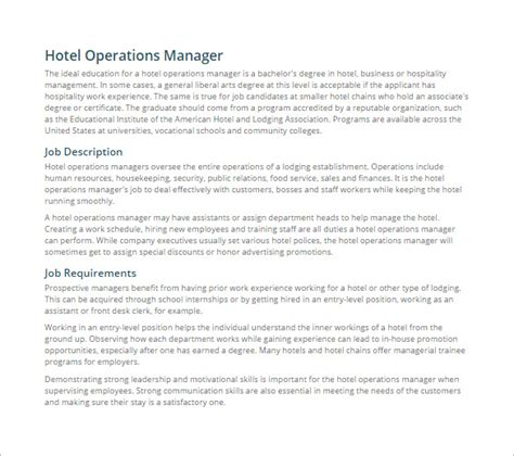 business operations manager description pictures to pin on pinsdaddy