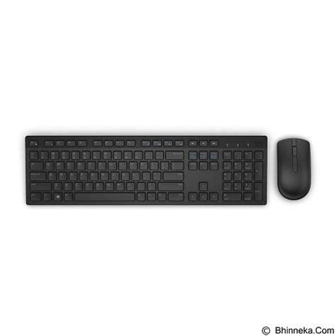 jual dell wireless keyboard and mouse km636 black murah bhinneka