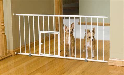 baby gates for dogs best baby gate with cat or pet door 2017 review of top pet gates