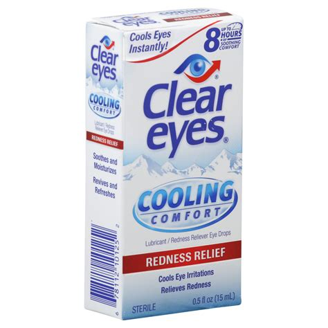 clear eyes cooling comfort upc 678112101252 clear eyes cooling comfort lubricant