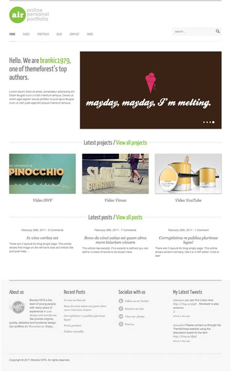 themeforest reviews airwp theme review themeforest net