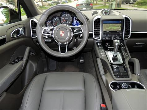 Cayenne Interior by 2016 Porsche Cayenne V6 Review Wheels Ca