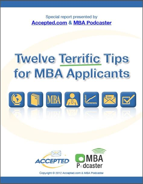 Mba Fair Tips by Mba Special Reports