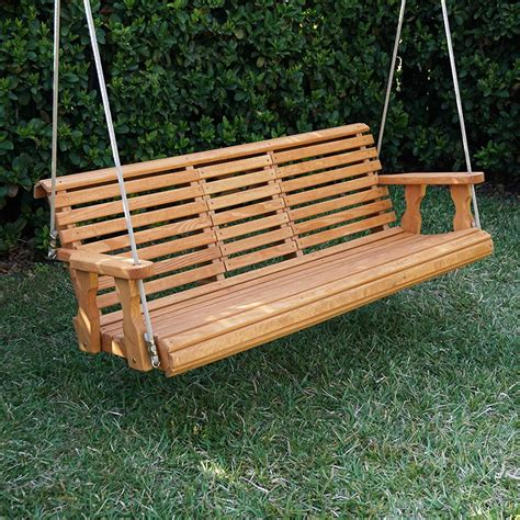 heavy duty patio swing porchgate amish heavy duty 700 lb rollback console treated