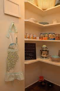 Pantry Ideas For Small Kitchens spectacular small kitchen corner pantry with l shaped pantry shelves