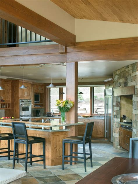 post  beam kitchen ideas pictures remodel  decor
