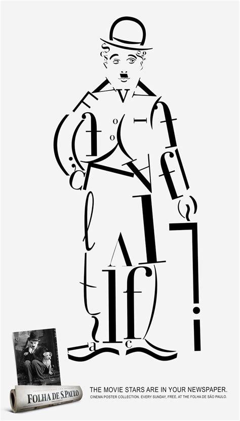 typography characters chaplin