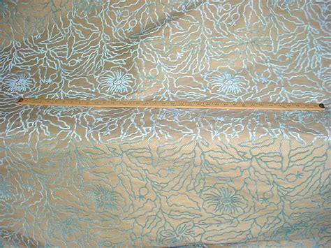 silk damask upholstery fabric 3 y incredible aqua blue silk damask velvet upholstery