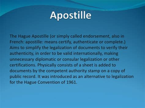 Is To by What Is Apostille Definition How To Apostille A Document