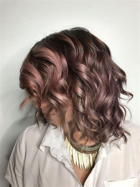 mauve hair color chocolate mauve hair color trend popsugar uk