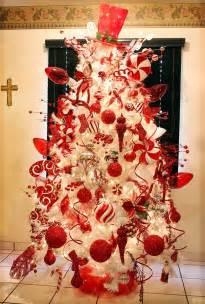 arbol de navidad rojo y blanco buscar con google white