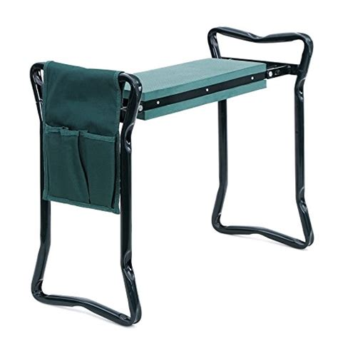 Kneel Stool by Songmics Foldable Kneeler And Garden Seat Portable Stool