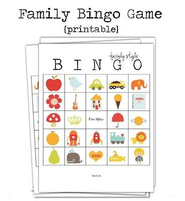 family bingo card template family bingo key lime digital designs oopsey