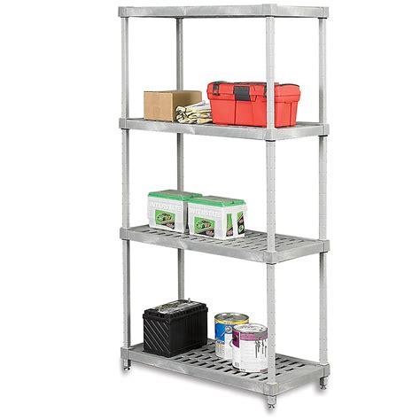 amco racks gillis amco plasteel shelving 60x18x72 vented shelves gray devxs