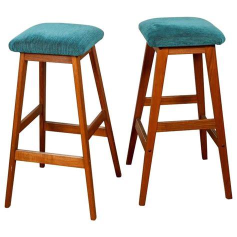 turquoise bar stools mid century turquoise bar stools at 1stdibs