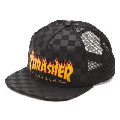 vans x thrasher trucker hat shop at vans
