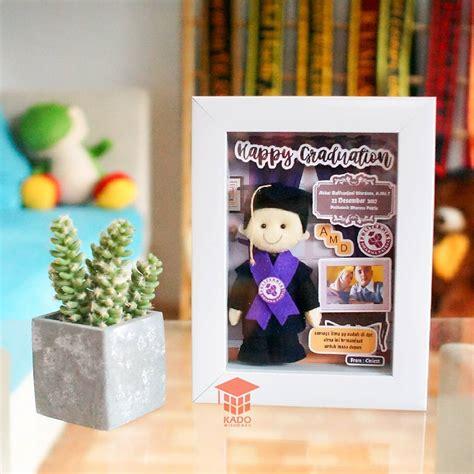 Boneka Untuk Orang Wisuda toko hadiah wisuda scrapframe boneka flanel kado wisudaku