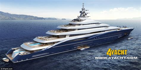 jacht giga double century giga yacht concept but who can afford her