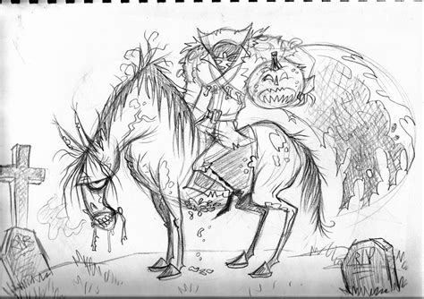 How To Draw Tassels Coloring Headless Horseman Coloring Pages