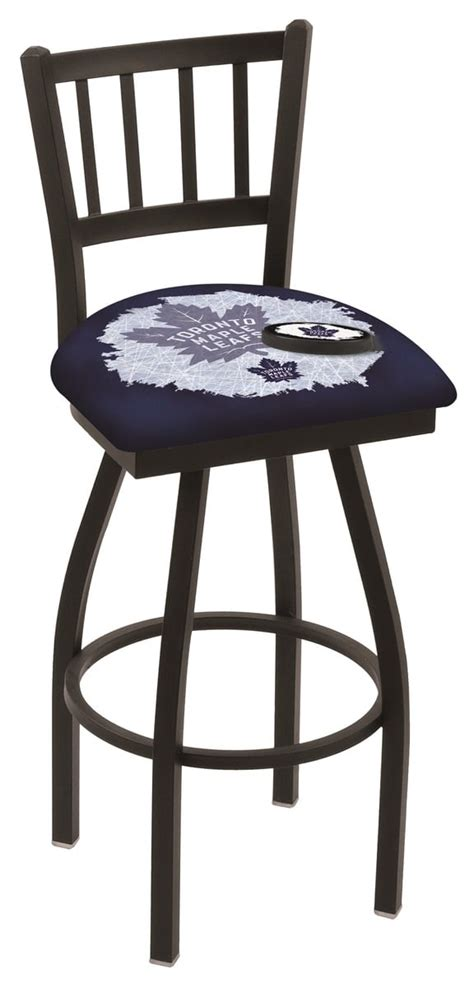 bar stools toronto toronto maple leafs bar stool w official nhl logo