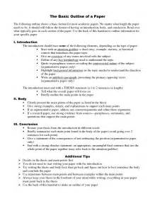 How To Write A Research Paper Outline Example Research Paper Outline