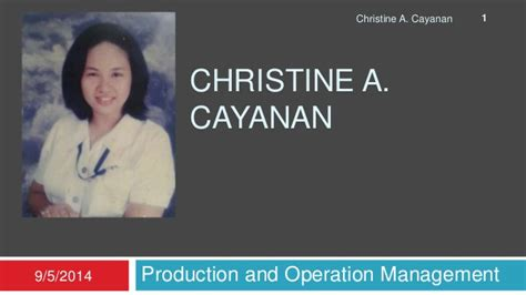 Production And Operation Management Ppt For Mba by Chapter 7 Process Strategy Production And Operation And
