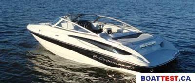 crownline boat test 2009 crownline 185 ss tested reviewed on boattest ca