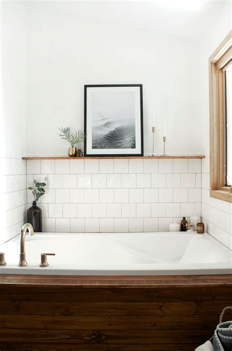 waits bathroom modern vintage bathroom reveal brepurposed
