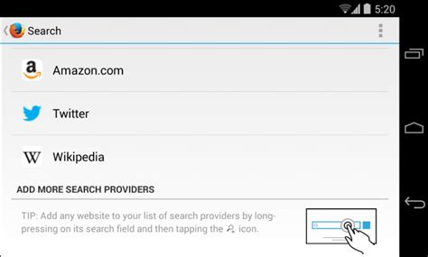 search engines for android how to change the default search engine on your phone or tablet