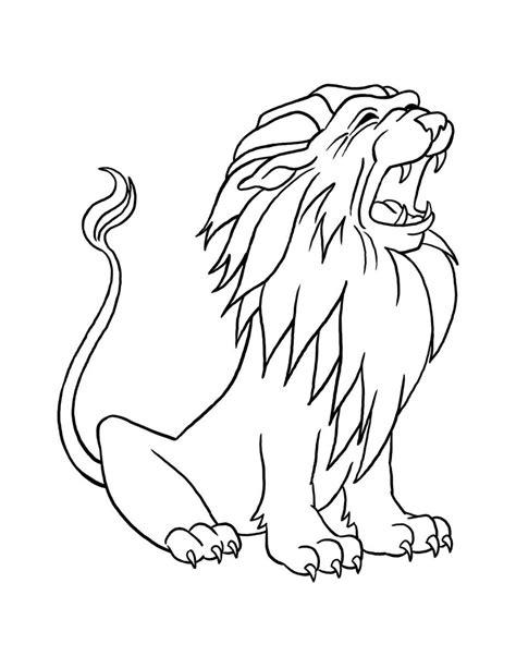 imagenes de leones para pintar dibujos para pintar de leones dibujos para colorear de leones